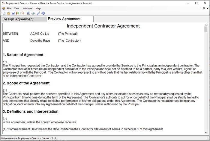 Employment Contract Template Builder Download Online – Casual Employment Agreement