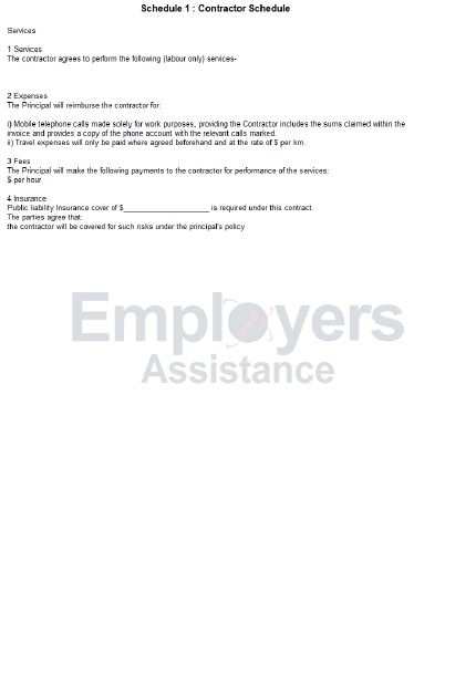 Independent Contractor Agreement Guide Employers Assistance